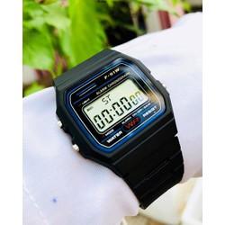 Đồng hồ điện tử WR F91 dây cao su JB40