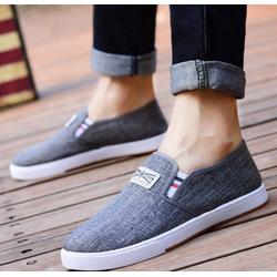 Giày mọi, giày lười - giày mọi thể thao vải jean thời trang Hàn Quốc