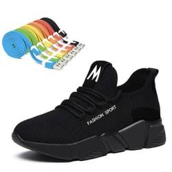 Giày Nữ Đẹp Thể Thao Sneaker Thời Trang FASHION SHOSE – ACG SIZE 36-37-38-39-40 đế nhẹ độ bền của sản phẩm hơn 2 năm chất liệu vả – Đen phối Đỏ-Đen phối tím-Đen Tặng Cáp sạc và truyền dữ liệu Micro USB X2 dây siêu bền hỗ trợ sạc nhanh cho đi