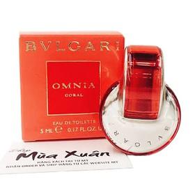Nước hoa BVLGARI Omnia Coral - Eau De Parfum 5ml - 783320446009