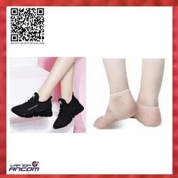 Giày Nữ Thể Thao Sneaker Thời Trang M đế nhẹ độ bền của sản phẩm hơn 2 năm chất liệu vải đế cao su size 36-37-38-39-40 – Đen phối Đỏ-Đen phối tím-Đen 1 Đôi Vớ Silicon Bảo Vệ Chống Nứt Gót Chân – Màu Da