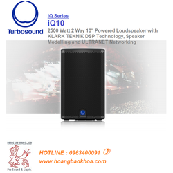 TURBOSOUND IQ10-BASS 25CM LOA LIỀN CÔNG SUẤT 2500W