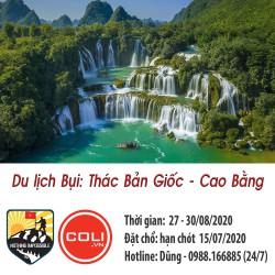 Du lịch bụi: Thác Bản Giốc - Cao Bằng (3N2D)