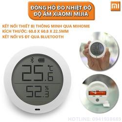 Đồng Hồ Đo Nhiệt Độ và Độ Ẩm - Nhiệt Độ và Độ Ẩm - Nhiệt Độ và Độ Ẩm Xiaomi Mijia