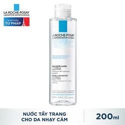 Nước Tẩy Trang Cho Da Nhạy Cảm La Roche Posay Micellar Water Ultra Sensitive Skin 200Ml