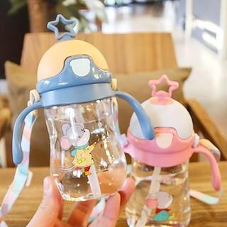 [ Hót - Được Chọn Màu ] Bình uống nước cho bé có dây đeo - Ngẫu Nhiên ( Ghi Chú Nếu Muốn Lấy Màu ) thumbnail