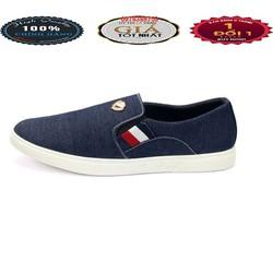 Giày Lười Vải Nam phong cách