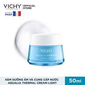 Kem Dưỡng Ẩm Cung Cấp Nước Cho Da Căng Mịn Ẩm Mượt Vichy Aqualia Thermal Rehydrating Cream Light 50Ml - 1511757595