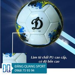 Qủa bóng đá cơ bắp Động Lực UCV 3.05 Qủa bóng đá sân cỏ size 5 - Tặng kèm kim bơm bóng và túi lưới đựng bóng
