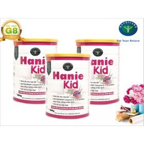 Bộ 3 lon sữa Hanie Kid 900g - Dành cho trẻ biếng ăn và Suy dinh dưỡng từ 1 - 10 tuổi của NutriCare - BHN3