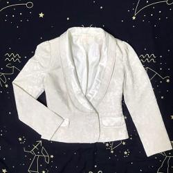 Áo vest, blazer gấm nữ thêu sang trọng