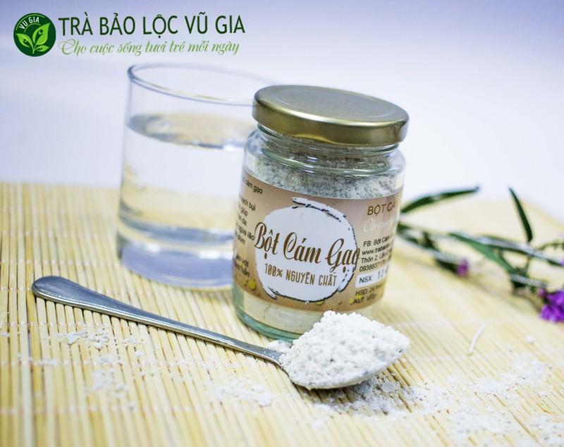 Bột Cám Gạo + Tinh Bột Nghệ - Nguyên Chất VG Farm [100gr-hũ]_Đã được kiểm nghiệm y tế - BCG100+TBN 1