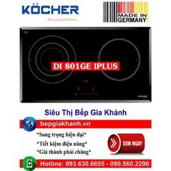 Bếp từ đôi Kocher DI 801GE IPLUS nhập khẩu Đức