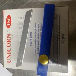 10 lưỡi dao rọc giấy A80 nhỏ UNICORN