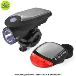 Đèn xe đạp - đèn trước sau xe đạp năng lượng
