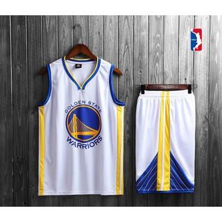 Bộ Quần Áo Bóng Rổ Golden State Warriors Mẫu 2020 - Bộ quần áo bóng rổ Golden State thumbnail