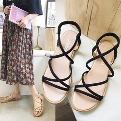 Sandal Nữ Dây Quai Chun