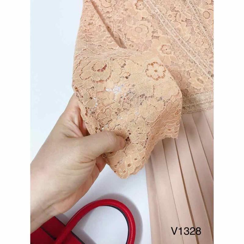 Đầm Xoè Ren Xếp Ly – K161