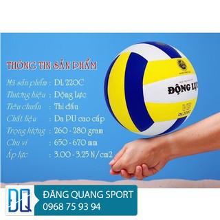 Qủa bóng chuyền Động Lực DL220C chính hãng( Tặng kèm kim bơm bóng và túi lưới đựng bóng) - BC - DL220C thumbnail