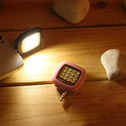 Đèn Flash Trợ Sáng Chụp Hình Cho Điện Thoại Chân 3.5mm