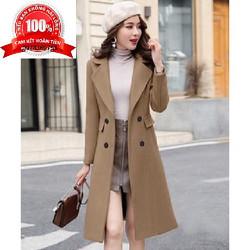 Áo Dạ Nữ Phong cách Hàn Quốc Cao cấp