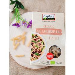Nui xoắn Gạo Lứt hữu cơ Explore Cuisines 250g