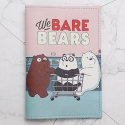 Ví đựng passport gấu mẫu 4