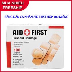Hộp băng cá nhân dán vết thương Urgo Aid First 100 miếng