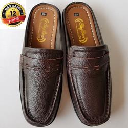 Giày Lười Nam Da Bò Thời Trang Trung niên
