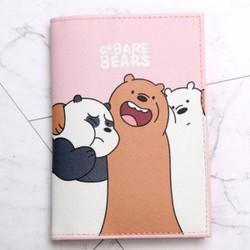 Ví đựng passport gấu mẫu 5