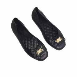 Giày búp bê nữ nơ xinh thoải mái đi nước