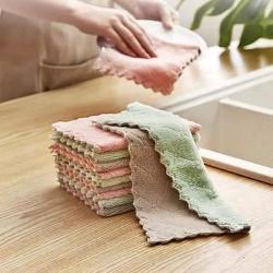 Freeship_Combo 20 Khăn lau đa năng mềm mịn - khăn lau bếp không để lại sợi bông - Nhanh khô