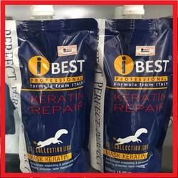 Kem Ủ Hấp Tóc Ibest Với Keratin Repair 500Ml