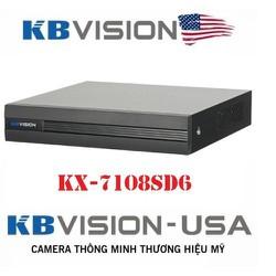 KX-A7108SD6 Đầu ghi hình Mini HD (5 in 1) 4/8 kênh dành cho camera 1.0 ,1.3 và 2.0 Mp - ĐẦU GHI HÌNH Mini HD (5 in 1) KX-A7108SD6