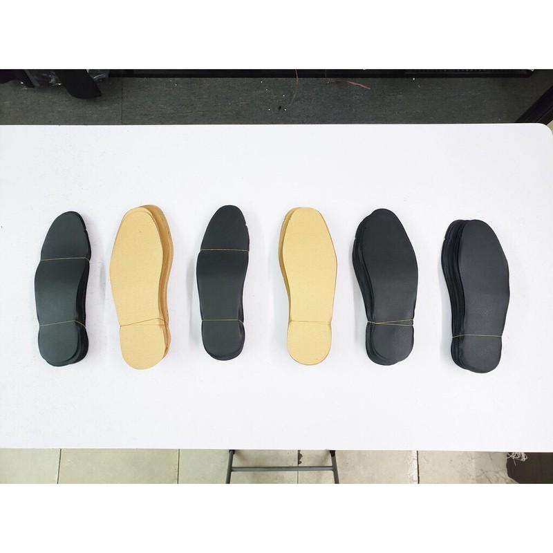 Lót Giày Nam Nữ Mặt Da PU Size 38-44 - L01-Den 16