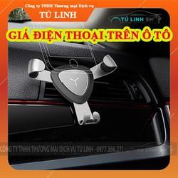 Giá đỡ điện thoại trọng lực gài cửa gió trên ô tô GP3