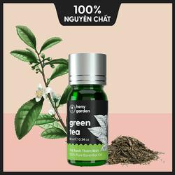 Tinh Dầu Trà Xanh Thơm Mát (Green Tea) – Nguyên Chất, Trị Mụn, Xông Thơm Phòng – 10ml - [Tặng Thêm 3 Mẫu Thử Với Đơn Hàng Bất Kì]