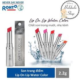 [TẶNG LỊCH ĐỂ BÀN] Son trang điểm dưỡng tối ưu Lip On Lip Water Color 2,2g - SON-LIPONLIP-WATER-HOP2.2