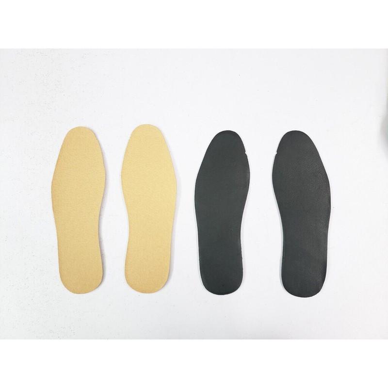 Lót Giày Nam Nữ Mặt Da PU Size 38-44 - L01-Den 9