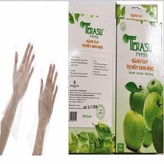 combo 3 hộp găng tay tự phân hủy sinh học - tnmart-td1ls thumbnail