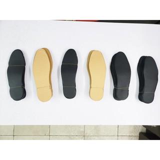 Combo 2 đôi lót giày trơn, lót giày nam nữ cực êm, không bong 2 màu đen - vàng - L01 thumbnail