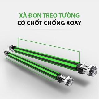 Xà đơn gắn cửa chống xoay điều chỉnh kích thước 60cm-100cm - xachongxoay thumbnail