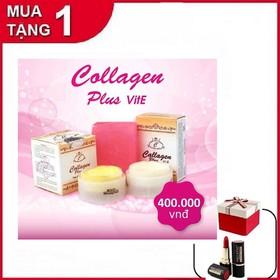 [Tặng Kèm Son MissRose ]Set Kem Đặc Trị Nám Tàn Nhang Collagen Plus Vit E Malaysia - Cam Kết Chính Hãng - KTN5226