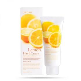 Kem dưỡng da tay 3w clinic lemon hand cream hương chanh kem dương da tay 3w xuất xứ Hàn 100ml - Kem dưỡng da tay 3w clinic lemon