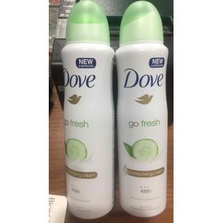 Xịt Khử Mùi 48h Dove Dưa Leo Và Trà Xanh Chai 150ml - 2858 thumbnail