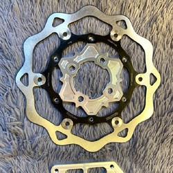Đĩa KTM 260mm + Lòng đĩa 4 lỗ 5 lỗ CNC - Vindecal BD