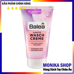 Sữa rửa mặt Balea hồng