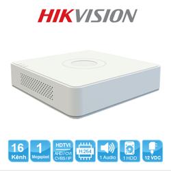 Đầu ghi hình Camera 4 kênh chuẩn HD Hikvision DS-7104HGHI-F1 Trắng - DS-7104HGHI-F1 [ĐƯỢC KIỂM HÀNG] [ĐƯỢC KIỂM HÀNG]
