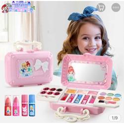 Bộ đồ chơi hộp trang điểm make up cho bé gái