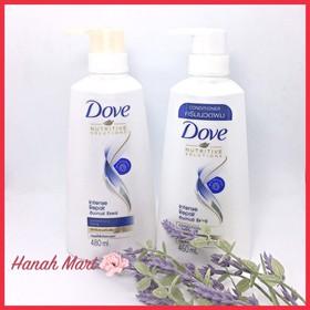Combo Dầu Gội Dove 480ml+ Dầu xả Dove 460ml THÁI LAN - combo dove
